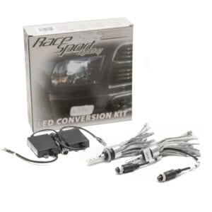 880 GEN4® LED Headlight Conversion Kit with Focus Optics, and copper stranded rope heat sinks