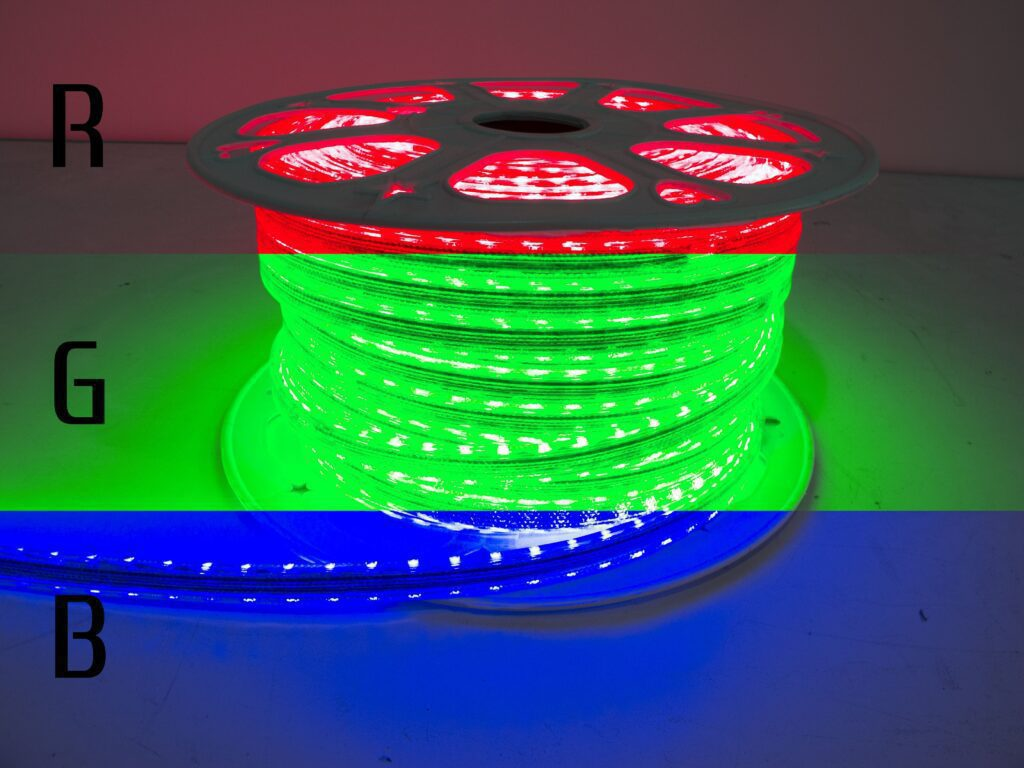 110v Weatherproof Pier Light Strip 164ft RGB Multi-Color with RS-WRGBRCV2 remote control