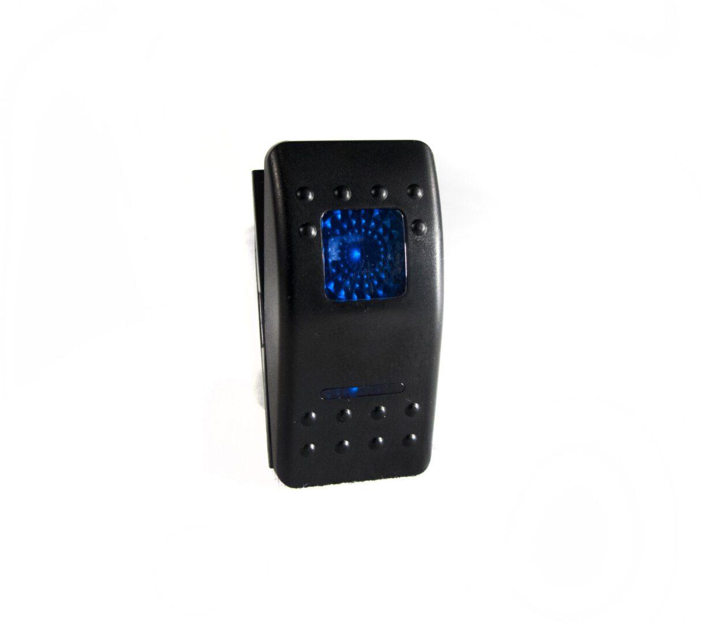LED Rocker 12V Switch (Blue) LED Lights of Atlanta