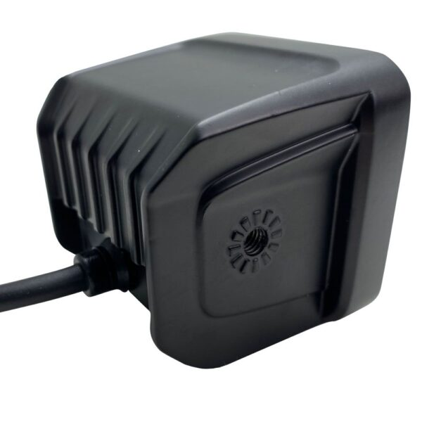 20-Watt 2,000lm RoadRunner Compliant IP67 Cube Aux Light with MELT Temp Control System and frameless construction