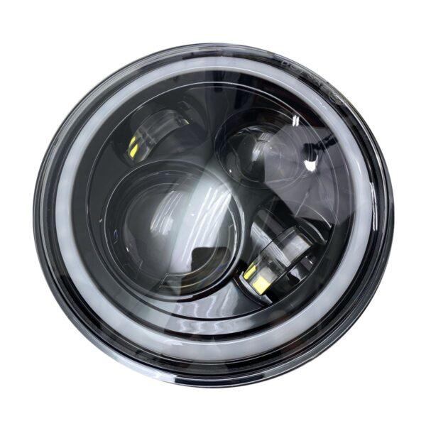 7in LED Projector Kit 4x10Watt w/ ColorSMART RGB Multi-Color Halo & Plug-&-Play H4 H/L